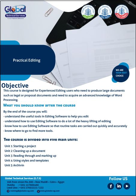 Practical Editing Course