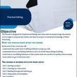 Practical Editing Course